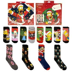 Coming Soon... 12 Days of Socks The Simpson's